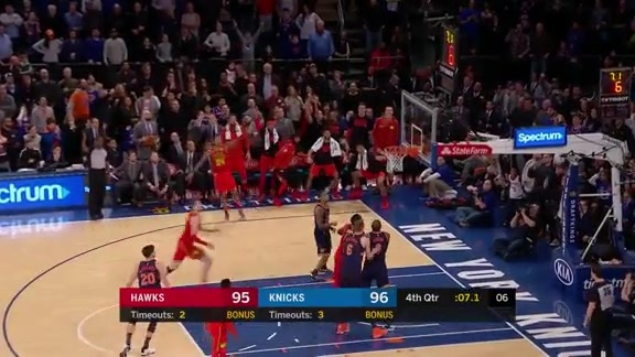 Kent Bazemore Comes Clutch In Emphatic Win vs. Knicks