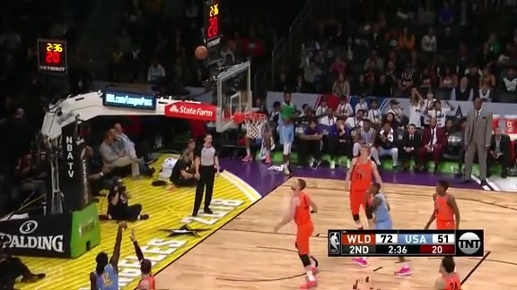 Prince Scores 8, Goes 2-3 From Three In Rising Stars
