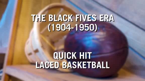 Black Fives Equipment: The Laced Basketball