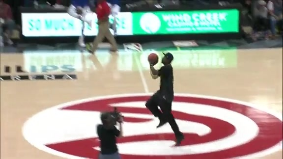For Third Time This Season, Hawks Fan Hits Half Court Shot For $10K