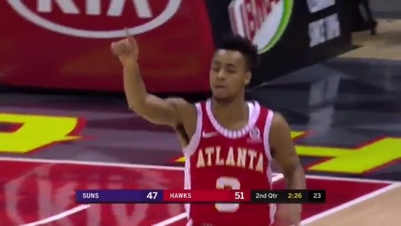 Hawks Hit 17 Threes In Win Over Phoenix