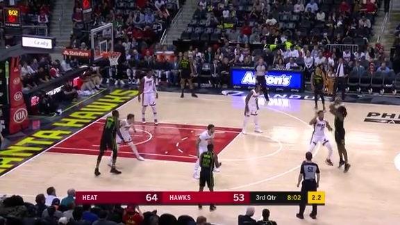 Taurean Drops 20 In Hawks Rematch With Heat