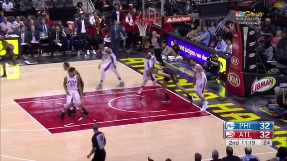 Moose Goggles: Mike Muscala's Top Plays of the Season