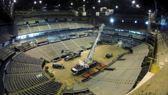 Time-Lapse: Philips Arena Transformation