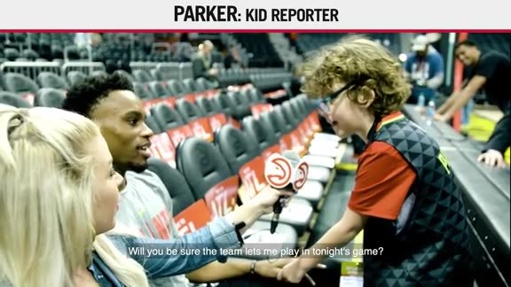 Kid Reporter: Parker Wants The Starting Five Job