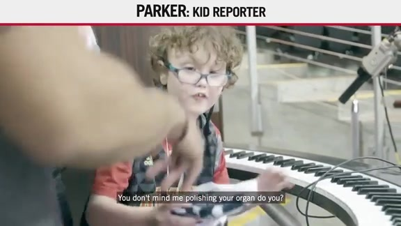 Kid Reporter: Parker Is Back At It Again