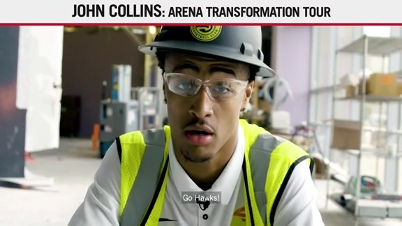 John Collins Goes Behind The Scenes During Transformation