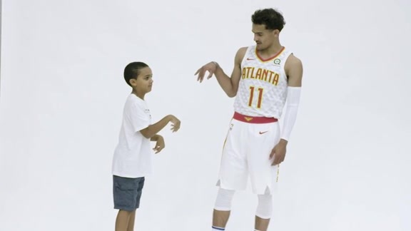 Trae Young: Behind the Scenes Footage from the Press Conference