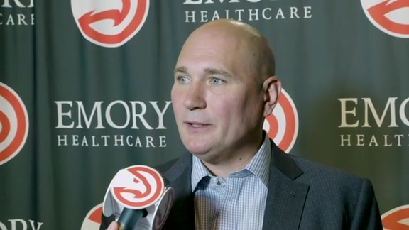 GM Travis Schlenk Has High Praise For Kevin Huerter