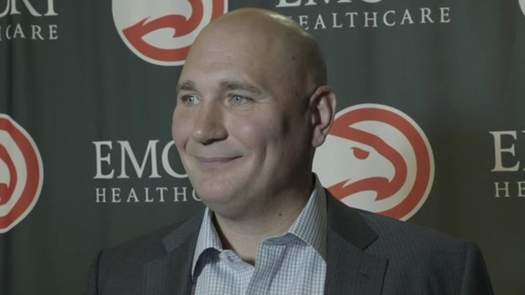 GM Travis Schlenk Addresses The Media After Acquiring Trae Young