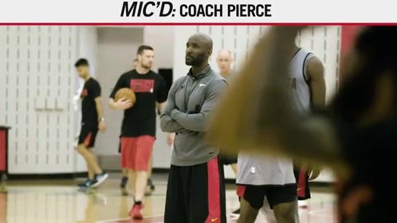 Feel The Passion: Coach Pierce Mic'd Up
