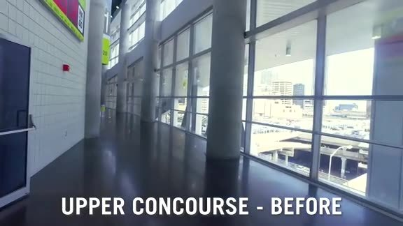 Transformation Tuesday: Upper Concourse Walk-Through