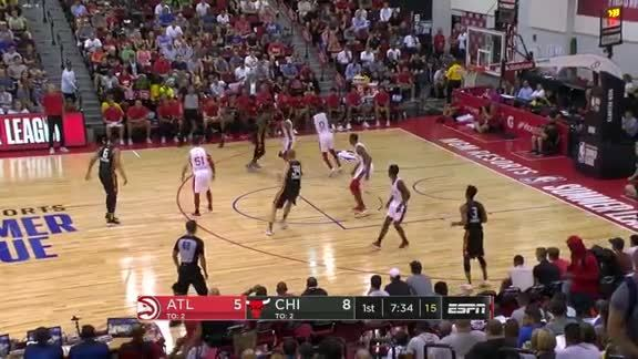 Trae Young Catches Fire Against Bulls