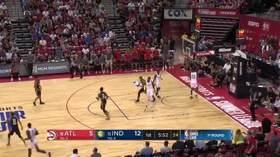 Trae Young Hosts Passing Exhibition in Win