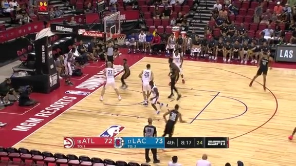 Junior Robinson Steals The Show In Final Summer League Game