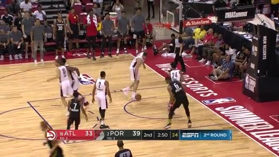 Hawks Hold Dunk Fest During Summer League