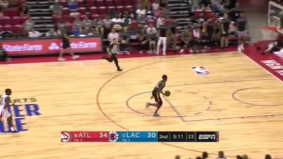Antonius Cleveland Puts on Show During Summer League