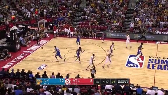 Hawks Space the Floor During Summer League