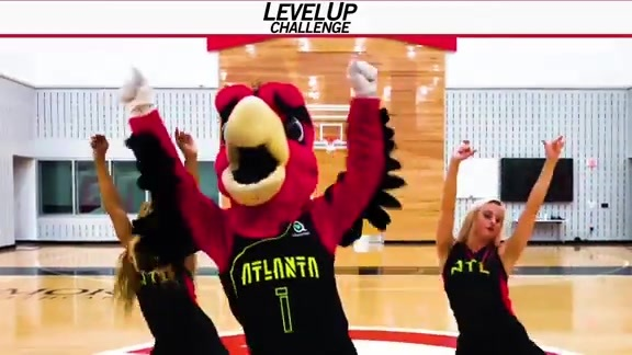 Harry the Hawk Takes On the Level Up Challenge