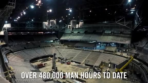 No Days Off: Philips Arena Transformation