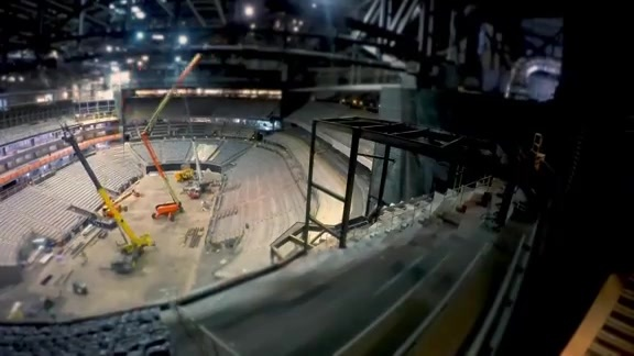 Arena Transformation Taking Shape for the Future