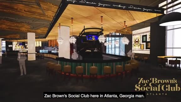 Chef Rusty Provides Sneak Peek Into Zac Brown's Social Club