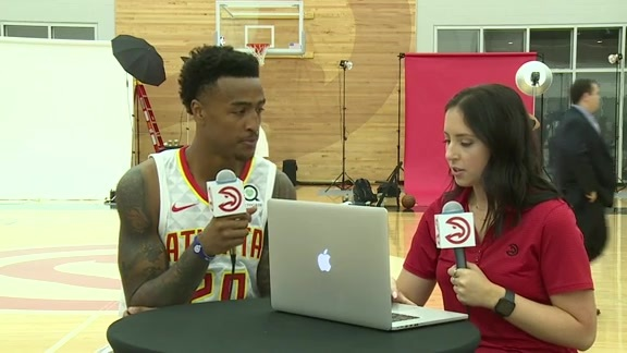 John Collins Goes Live from 2018 Media Day
