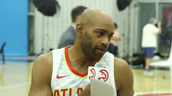 Vince Carter Goes Live for His Twenty First Media Day
