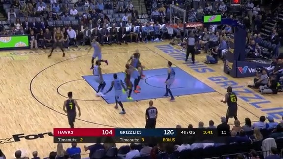 Plumlee Throws Down vs. Grizzlies