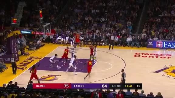 Young Notches Impressive Double-Double vs. Lakers