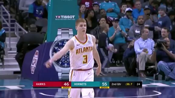 Huerter Has Impressive Night vs. Hornets