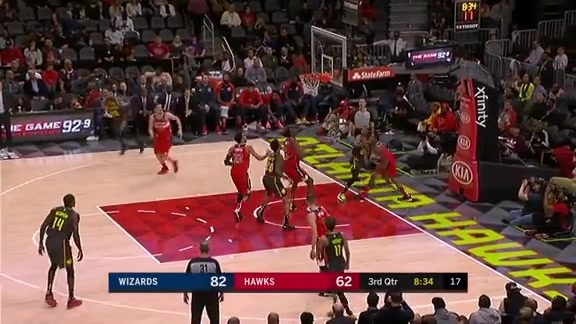 Bazemore Balls Out: Scores 22 Points Against Wizards