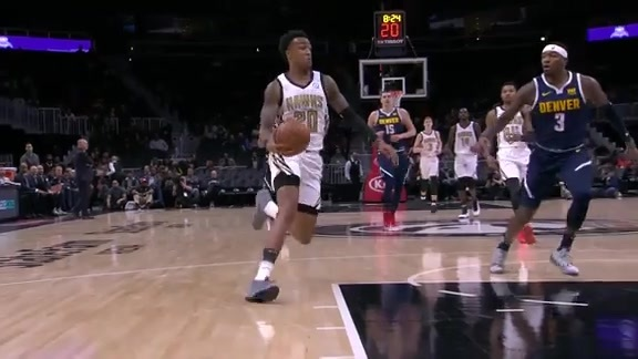 Collins With Third Career-High of the Season: Scores 30 Against Nuggets
