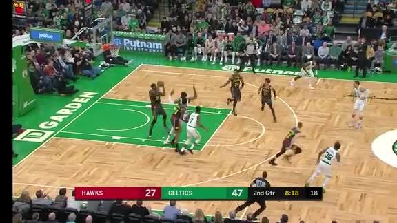 Kevin Huerter Catches Fire In Boston