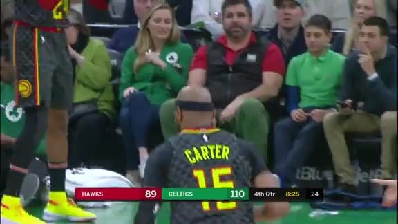 Vince Carter Throws Down vs. Celtics