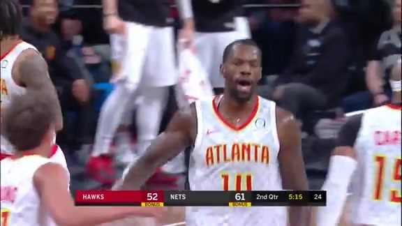 Dewayne Dedmon Sets New Career-High of 24 Points