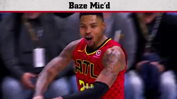 Kent Bazemore Mic'd Up During Victory Over Wizards