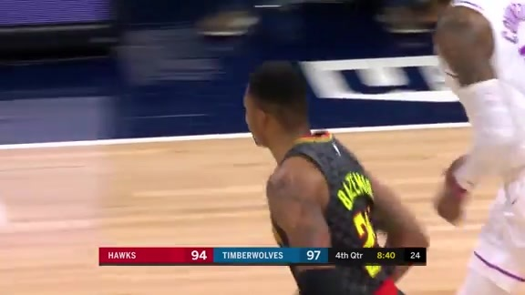 Bazemore Leads Team In Scoring For Second Game In A Row