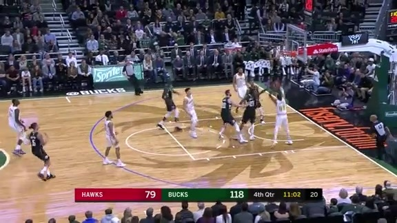 Hawks Bench Makes An Impact vs. Bucks