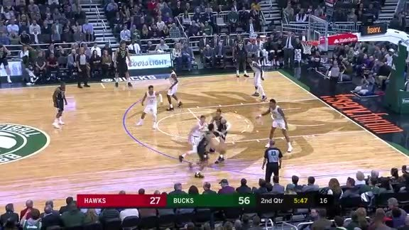John Collins Steal and Slam