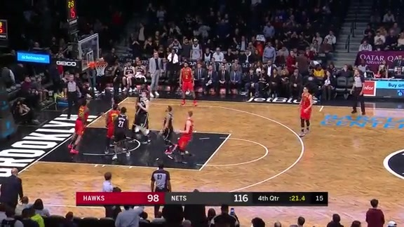 Collins Matches Career-High 30 Points vs. Nets