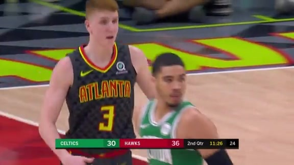 Huerter Notches Team-High 18 Points vs. Celtics
