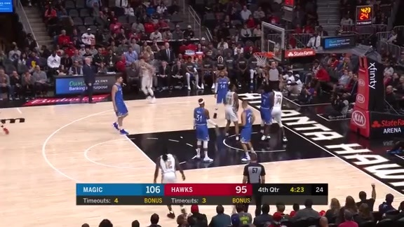 Dewayne Dedmon Catches Fire From Deep, Notches 24 Points