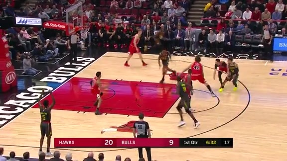 Collins Pours In Career-High 35 Points In Hawks Win