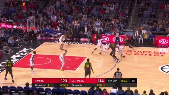 Young Gets Hot, Leads Hawks To Victory