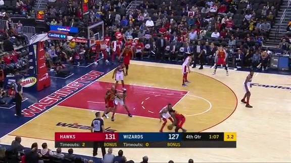 Prince Leads Hawks With 21 Points In Win Over Wizards
