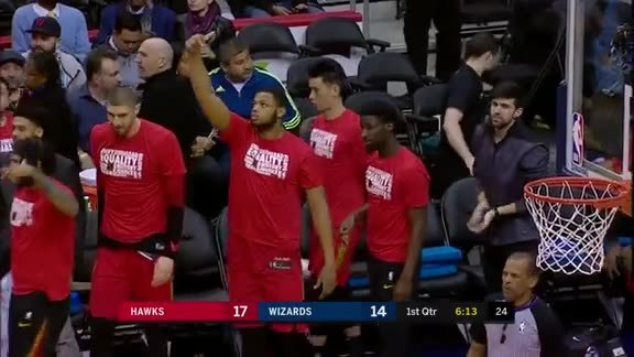 Hawks Make 20 3-Pointers In D.C. Victory