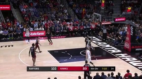 Young and Prince Lead Hawks With 19 Points vs. Raptors