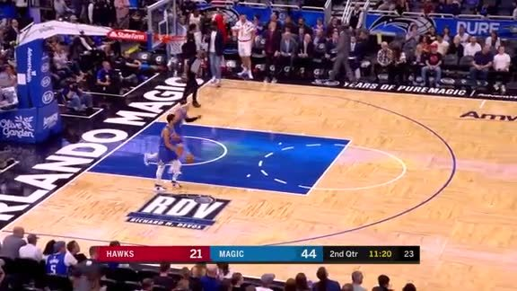 3-pointer By Justin Anderson In Second Quarter