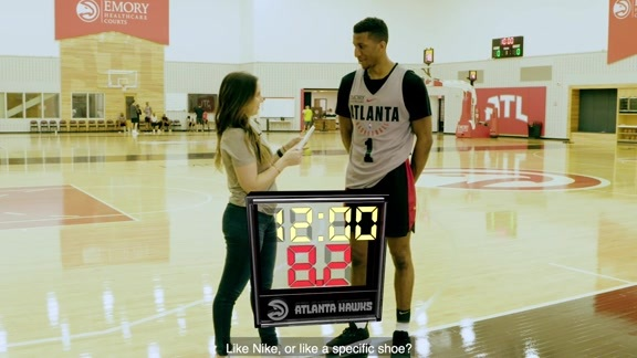 24 Second Shot Clock: Aubrey Dawkins